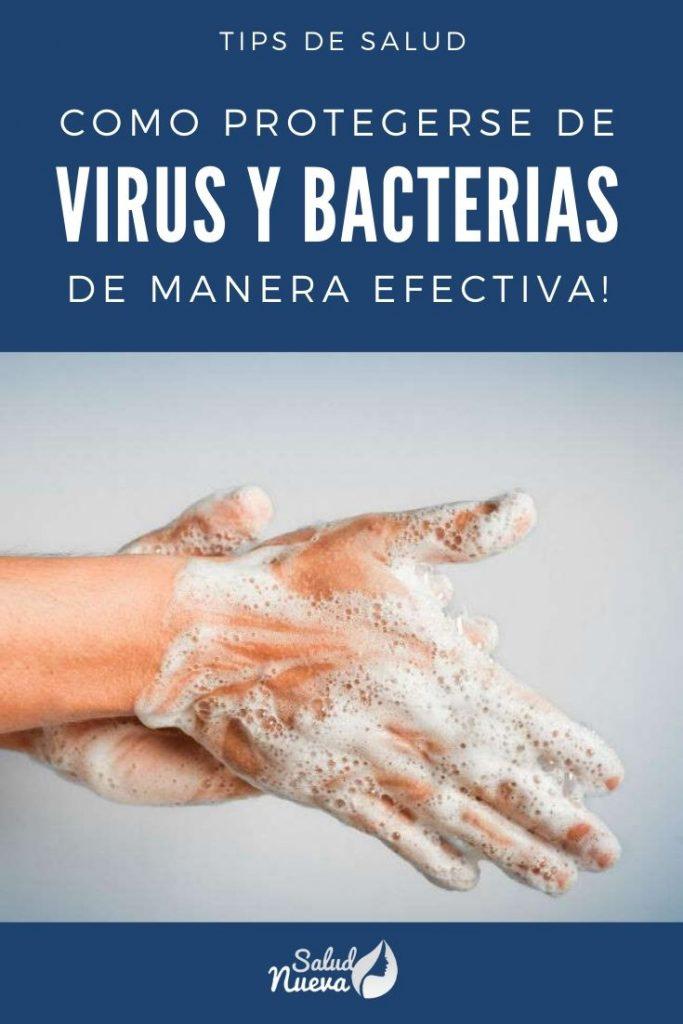 como protegerse de virus y bacterias