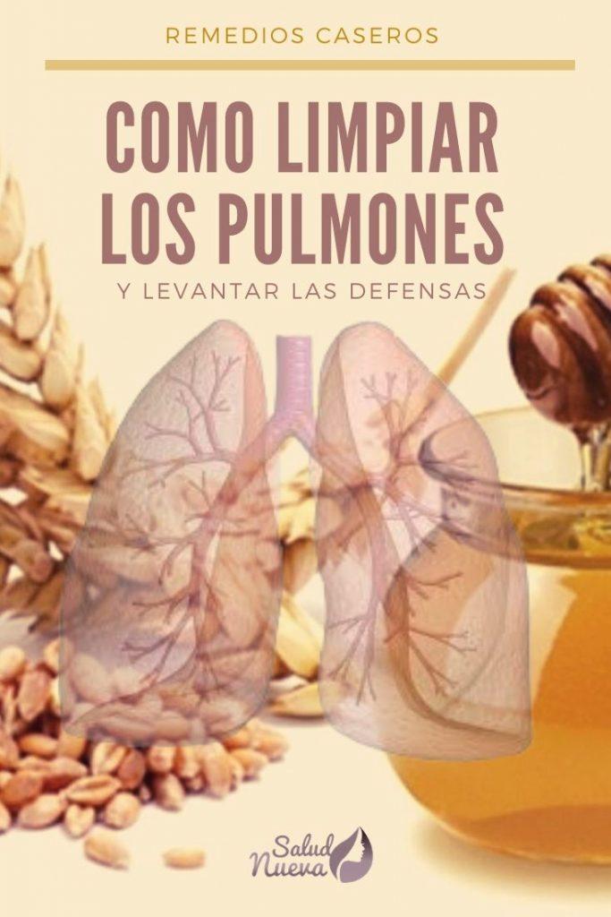 como eliminar la mucosidad de los pulmones